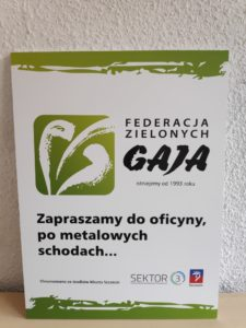 Dzięki Fundacji Sektor 3 iMiastu Szczecin jesteśmy znów widoczni wSzczecinie!