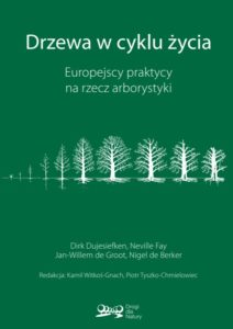 """Publikacja """"Drzewa wcyklu życia. Europejscy praktycy narzecz arborystyki."""""""