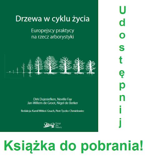 """Publikacja """"Drzewa w cyklu życia. Europejscy praktycy na rzecz arborystyki."""""""