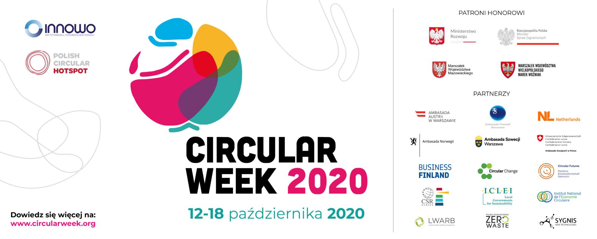 """""""CIRCULAR WEEK"""" 12-18 października 2020 r."""