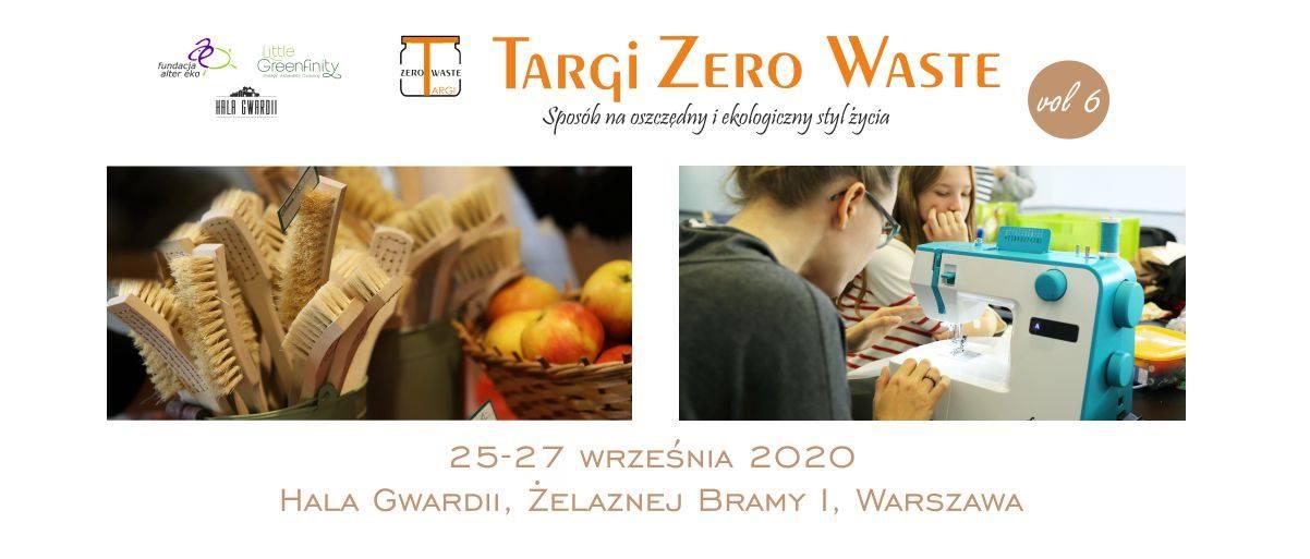 Targi Zero Waste - już w dniach 25-27 września 2020 r.!