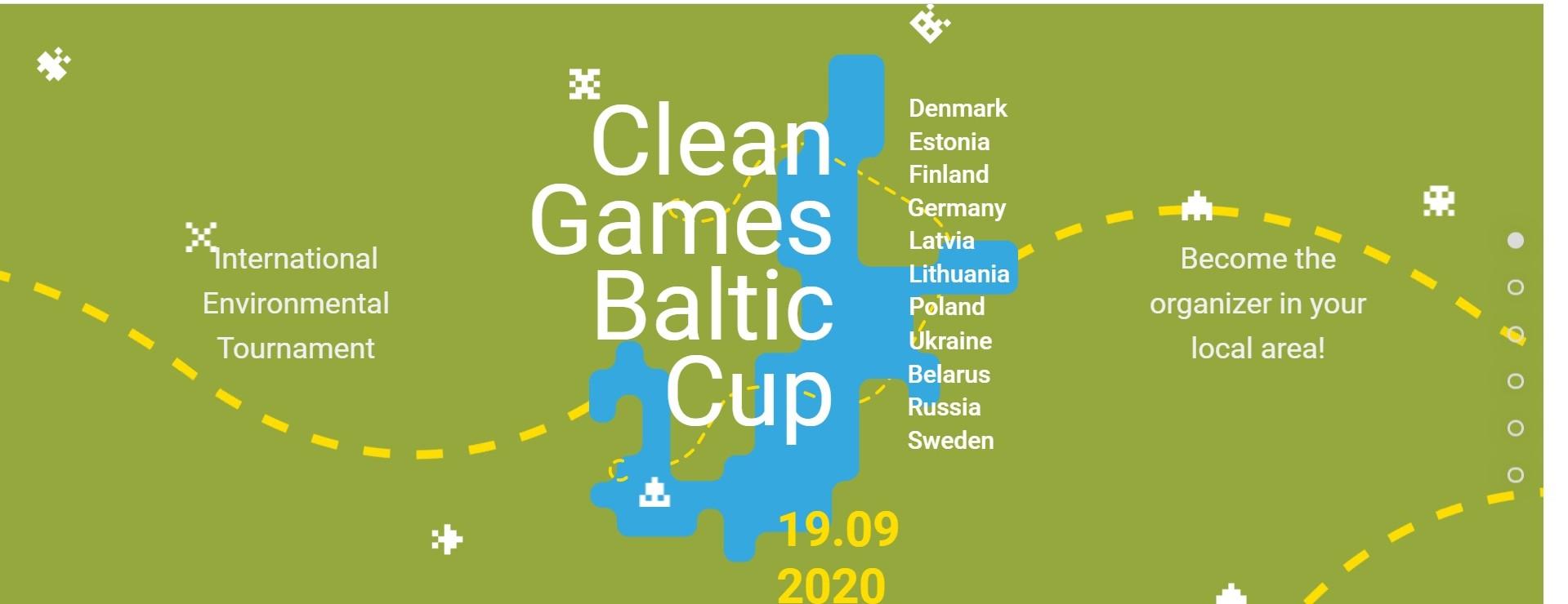 """""""Clean Games Baltic Cup"""" - dołącz do międzynarodowego turnieju ekologicznego!"""