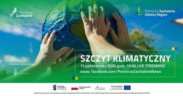 I Szczyt Klimatyczny na Pomorzu Zachodnim 15.10.2020