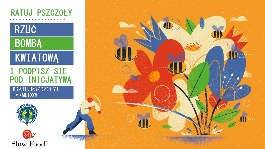Ratuj pszczoły i rolników - podejmij WYZWANIE BOMBY KWIATOWEJ!